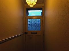 Hall (sixthland) Tags: cameraphone door hall iphone7 light