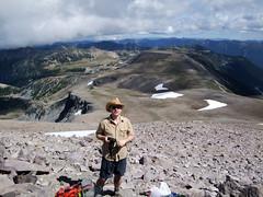 Mark on Third Burroughs (Sotosoroto) Tags: dayhike hiking mtrainier rainier burroughsmountain burroughsmtn mountains washington cascades