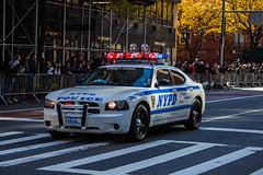 Coche policía (Garimba Rekords) Tags: nyc ny new york nueva eeuu maratón policía police nypd coche car calle