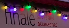 Finale Reflections (ianwyliephoto) Tags: corbridge northumberland tynevalley christmas lights festive sparkling twinkle 2016 community