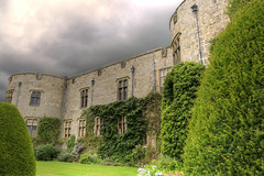 Chirck Castle (Tony Shertila) Tags: 20150824144322 chirk chirkcommunity gbr geo:lat=5293537726 geo:lon=308967948 geotagged unitedkingdom wales outdoor europe britain wrexham northwales marcher castle building architecture structure eather day clouds cloudy sky trees topiary ceiriogvalley fortress defensive