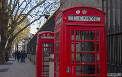 Telephone Booths (Danno KaBlammo) Tags: europe danny bourque 2016 uk british england london britain gb great united kingdom brits english telephone booth booths