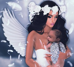 | Mother of Angel |  ( Ar O'Mrg) Tags: secondlife sl secondlifephotography slphotography slfashion secondlifefashion fiore thearcadegacha bb belleza vnus mae anjo