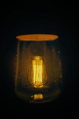Eddie's son (PommieDad) Tags: electric lamp light bulb vintage artistic lightning abstract nikon sigma d3300 genie invention edison