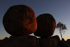 First light at the Devil's Marbles (cathm2) Tags: australia nt wauchope karlukarlu devilsmarbles travel rocks light dawn