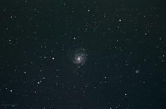 M101 Pinwheel Galaxy (Themagster3) Tags: m101 pinwheelgalaxy astronomy astrophotography galaxy nightsky night deepsky astrometrydotnet:id=nova1853202 astrometrydotnet:status=solved
