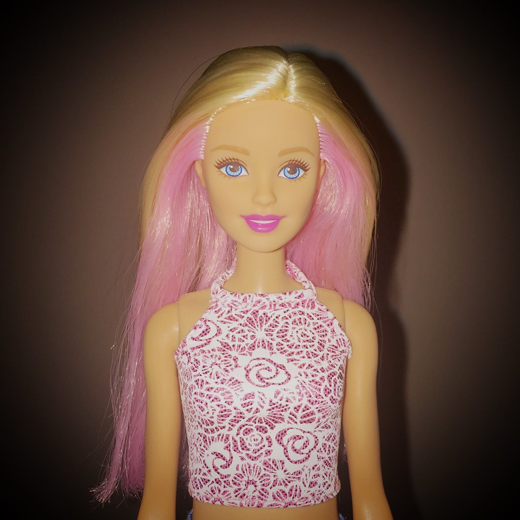 imperfection barbie That's proportioned like a real woman, and comes with 'imperfection'  it  started as an art project, but interest grew for a normal barbie,.