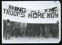 Peace March against Vietnam, October 1970 (Regional History Center & NIU Archives) Tags: boycott demonstration protest niu northernillinoisuniversity student activism