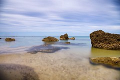 Limpid (Mario Ottaviani Photography) Tags: sony sonyalpha italy italia paesaggio landscape travel adventure nature scenic exploration view vista breathtaking tranquil tranquility serene serenity calm limpid limpida acqua water sea seascape reefs rocks scogli transparent trasparenza mare vasto