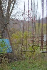 DSC_0911 (skimpics) Tags: haunted abandon abandoned amusementpark themepark burialgrounds native american indian cemetery cemetary creepy halloween scary ghosts ghost demon demonic paranormal woods westvirginia appalachian allhallows pumpkin ferriswheel swing children
