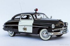 1949 Mercury Police Cruiser (Ken Hendricks and Larry Patchett) Tags: danburymint 1949 mercury police cruiser 124scale diecast model car