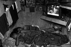 Facing one's own (shankarsarkar) Tags: sleeping india television blackwhite women uncle mother relationship kolkata intimacy westbengal sonagachi redlightarea trafficked