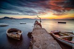 Sunset (Carlos J. Teruel) Tags: longexposure sunset espaa cloud atardecer spain nikon mediterraneo paisaje tokina murcia le nubes fx marmenor lightroom marinas filtros largaexposicion xaviersam singhraynd3revgrad carlosjteruel d800e