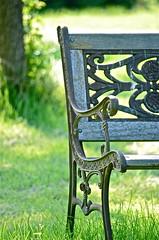 DSC_1042 (jdlayden) Tags: blue trees black green bench nikon iron wroughtiron summertime westriver wrought grosseilemi d7000 jdlayden