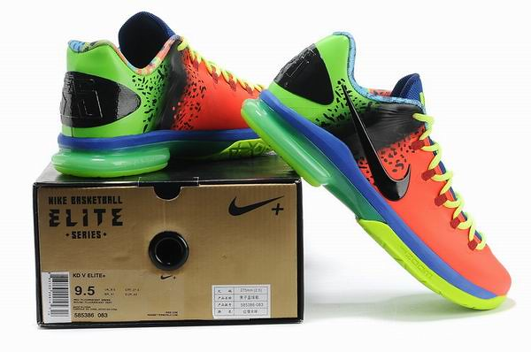 Nike KD V Elite Anti Nerf Customs Kevin Durant Shoes-1
