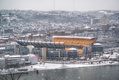 Snow covered Heinz Field from Mt. Washington HDR (Dave DiCello) Tags: sunset sun moon clouds reflections dawn pittsburgh dusk bridges mtwashington northshore rivers hdr pncpark heinzfield thepoint pittsburghpirates pittsburghskyline mellonarena pointstatepark westendbridge civicarena westendoverlook steelcity robertoclementebridge pittsburghpenguins pointstateparkfountain pittsburghphotographer nikond600 nikond700 fountainpittsburgh consolenergycenter davedicello hdrexposed pittsburghfountain fountaininpittsburgh fountainatpointstatepark parkatthewestendoverlook fountaininpointstatepark pittsburghfountains