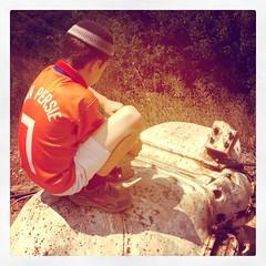 2013-08-22 12.27.44-1 (dda1605) Tags: orange history netherlands religious israel football kid war border syria golanheights golan kippa footballnationalteam vanpersie