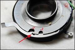 Copal-MX Leaf Shutter (35) (Hans Kerensky) Tags: japanese leaf pin release rear repair shutter service re install external lever internal copalmx anywhitefieldtagbyflickrsspamtagbot