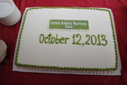 Photo - Emma Gomez Martinez Park Renaming Event