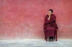 All red (PeterCH51) Tags: china red buddhist religion culture monk buddhism tibet monastery tibetan cultural buddhistmonk sakya tibetanbuddhist 5photosaday sakyamonastery mywinners earthasia peterch51 flickrtravelaward