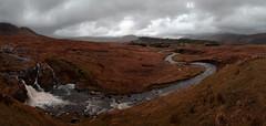 Connemara (Ken Duke 03) Tags: landscape waterfall gloomy panoramic connemara panoramaimage