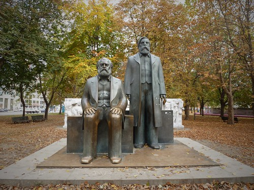 Karl Marx et Friedrich Engels, Berlin, Allemagne
