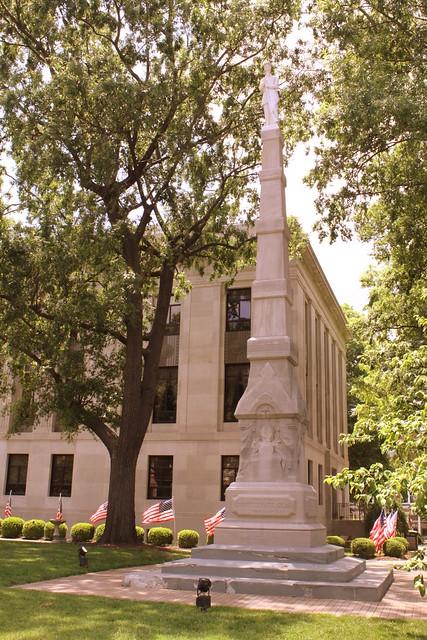 Confederate Statue - Jackson, TN