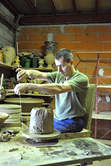 Atelier poterie à ''Le chêne vert''