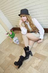 Pink Anne (David & Anne's) Tags: cute girl fashion socks asian pretty boots filipina ulzzang
