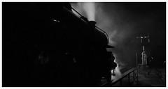 The Severn Valley Railway's Flying Pig - 43106 - at night. (Keith Wilko) Tags: rock br trains steam severn signals darlington worcestershire railways britishrail steamengine semaphore flyingpig steampunk steamtrains svr nighttrain steamlocomotive lms severnvalleyrailway doodlebugs steamengines britishrailways bewdley theflyingpig muckyduck lmsr ivatt ashpit londonmidlandandscottishrailway 43106 usastyle londonmidlandregion ivatt4 semaphoresignalling darlingtonworks vision:mountain=0547 vision:sky=0738 vision:outdoor=0718 loco43106 steamtrainsinengland 43106loco flyingpig43106 svrlocos svrtrains locomotive43106 trainsonthesvr
