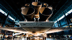 Discovery Engines (Ourorborus.) Tags: usa smithsonian washington space shuttle discovery