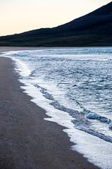 Cold Surf.jpg (nimble.lynx) Tags: blue brown white cold abandoned beach island scotland cool sand beige surf waves unitedkingdom isolation harris