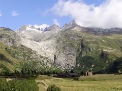 Rhone Glacier (mostlybytrain) Tags: alps train schweiz switzerland diesel steam furka furkaoberalp