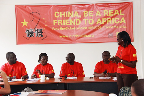 Civil Society Calls on China to pay its Fair Share in Global Fight against HIV/AIDS (11/25/13)