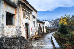 Rainy Morning @ Tachuan Village, Anhui China (Feng Wei Photography) Tags: china morning travel autumn house color fall tourism beautiful beauty horizontal rural season relax twilight ancient scenery colorful asia tour village view outdoor traditional chinese relaxing scenic culture peaceful tranquility landmark historic rainy serenity vista historical remote serene tradition architeture tranquil breathtaking yi huangshan anhui tachuan