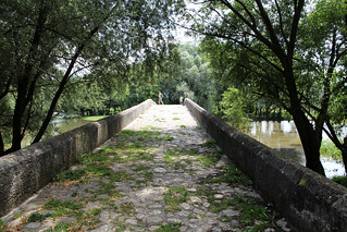 roman bridge over the river bosna ✿
