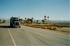 California (misterworthington) Tags: california road arizona usa mountain phoenix sign america truck sand highway neon desert grandcanyon nevada nogales motel mobil freeway pothole bunboy hitchhike gilabend rout66 unitedstaes