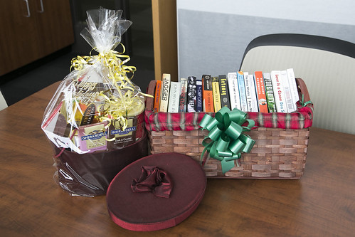 Library- Books & Chocolate Basket C