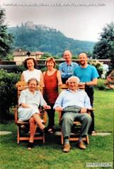 CarloPrati con la moglie Liliana e i figli Maria Pia Aurora Marco Giulio