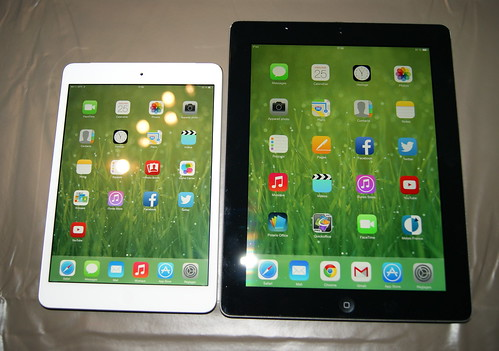 iPad mini Retina VS iPad 4