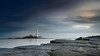 St. Mary's Lighthouse (Alistair Bennett) Tags: lighthouse seascape sunrise coast rocks desaturated stmarys whitleybay tynewear polariser baitisland canonef1740mmƒ4lusm gnd075he gnd045se