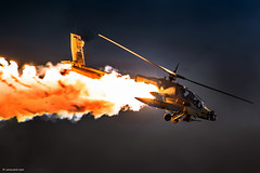 """You are the one who performs miracles"" (xnir) Tags: night israel apache aviation helicopter serpent flares nir ah64a iaf israelairforce ah64 xnir"