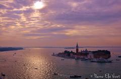 le de San Giorgio Maggiore - Venise (Pierre-Eloi VIZOT) Tags: venice photo italia paysage venise venezia italie 2013 findejourne ledesangiorgiomaggiore pierreeloi pierreeloivizot vizot