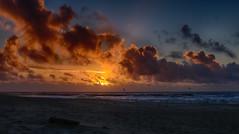 Denmark Sunset (derhalbling) Tags: sunset sea nature clouds landscape denmark day sonnenuntergang cloudy natur north wolken breakers landschaft dnemark nordsee hdr brandung thyborn blinkagain surgeofwaves derhalbling