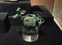 Museo Larco Per Lima la caza del venado adorno Mochica 5500 (Rafael Gomez - http://micamara.es) Tags: adorno peru del de y lima galeria per museo oro caza larco venado joyas mochica