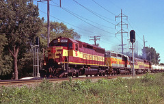 Good While it Lasted (ahall4370) Tags: trains wc railroads wisconsincentral sd45