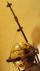 instrument for the apocalypse (top) (Vincent Mattina (aka FLUX)) Tags: skull globe apocalypse feathers violin instrument brass