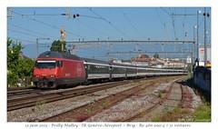 Re460 090-4 InterRégio - Prilly-Malley (CC72080) Tags: sbb cff re460 interrégio prillymalley