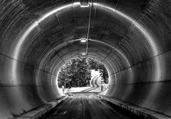 Tunnel Vision (evanffitzer) Tags: road winter ice tunnel kamloops canoneos60d evanffitzer evanfitzer