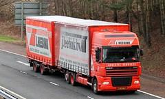 DAF XF - J.HEEBINK Logistic Services Netherlands (scotrailm 63A) Tags: netherlands european trucks foreign lorries